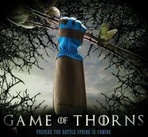Game of Thorns gloves
