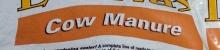 Cow manure label