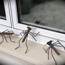 Ant sculptures