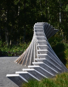 Sculpture at International Garden Festival