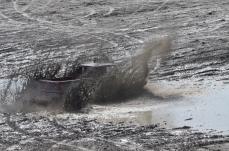 Truck in mud