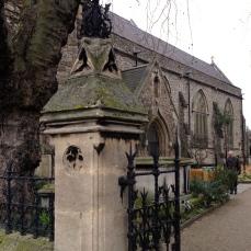 Gate at Garden Museum