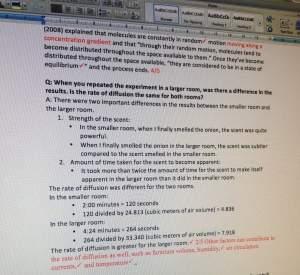 Screen shot paper
