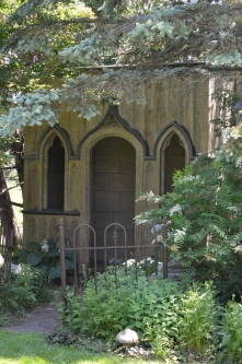 Stone hideaway in Gothic style