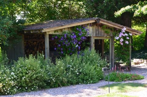 Hideaway wood hut