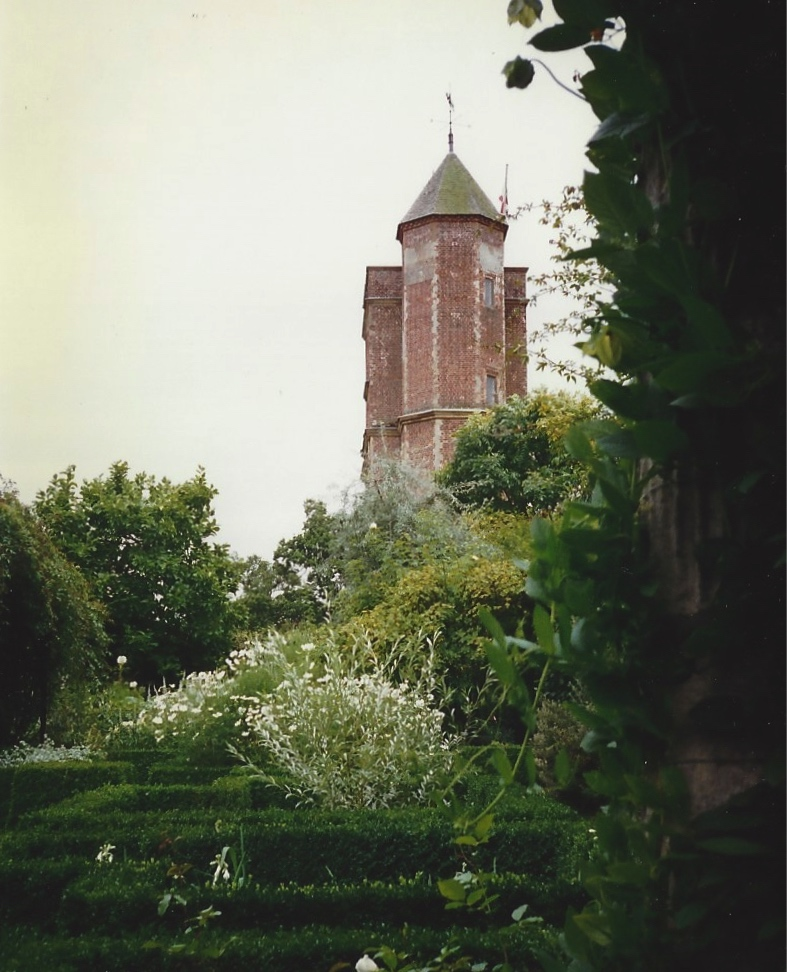A view of the Sissinghurst Elizabethan Tower.